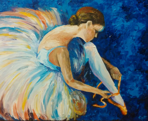 Ballerina In Color #3