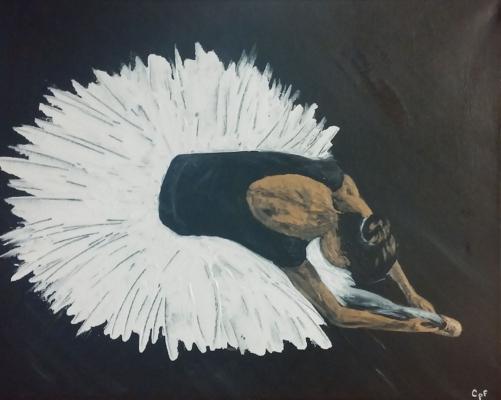 Ballering In White Tutu #2