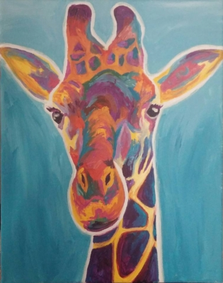 Global Wildlife Giraffe