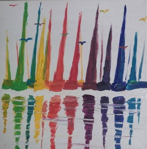 Sailboat Rainbow