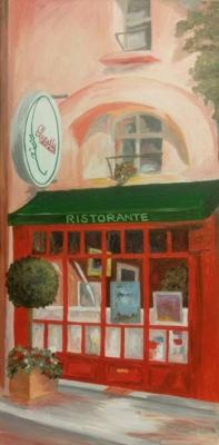Italian Restaurant 12x24 $85