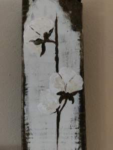 Cotton 2 on Reclaimed Wood Image