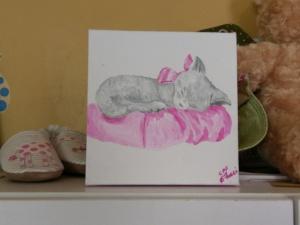 Nursery Baby Art - Kitten Image